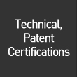 Technical and Patent Certifications